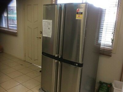 Sharp sjf624stsl 624 litre french door refrigerator aud for 1500 french doors