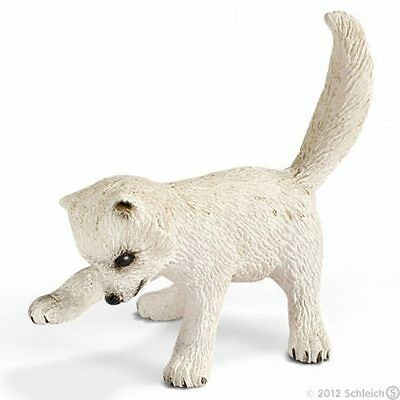 Animali Animal Schleich Wild Life Volpe Artica Cucciolo Artic Fox Kit 14639