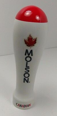 Molson Ice Canadian Red White Beer Tap Handle Draft