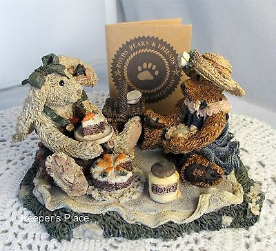 Boyds Bears & Friends Collection Bailey & Emily....Forever Friends Figurine COA