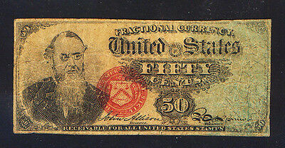 CONTEMPORARY COUNTERFEIT 50 Cent Fractional Currency note