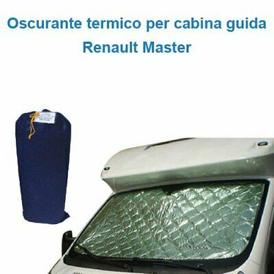 Darkening internal thermal Renault Master cab Guide 3 pieces Camper