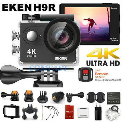 Original Ultra 4K HD EKEN H9R Action Camera Waterproof WiFi Sport DVR Camcorder
