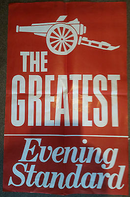 Arsenal: Evening Standard Large Poster - The Greatest - From the 1970's