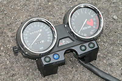 Kawasaki Zrx1100 Zrx 1100 C4 Clocks Dash Odometer Tacho - Uk Spec - Mph