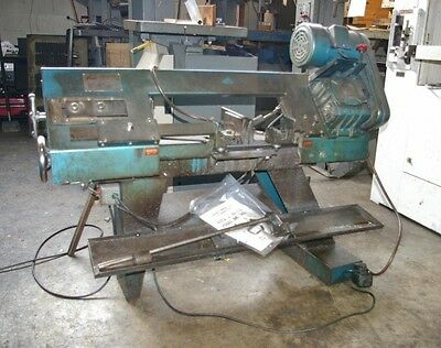 "7"" X 12"" Enco #hvb-180E Horizontal Band Saw Manual Control, 1Hp Motor"