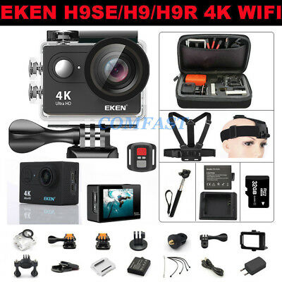 EKEN H9/H9R 4K WIFI Action Camera Ultra HD 1080P Sports Camcorder Waterproof