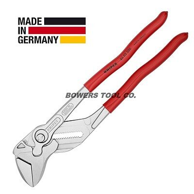 """Knipex 12"""" Pliers Wrench 8603300 Adjustable Wrench Hybrid Tool Germany"""