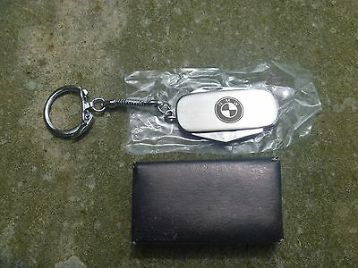 VINTAGE BMW Keychain with Knife, Screwdriver, Bottle Opener  All Stainless Steel
