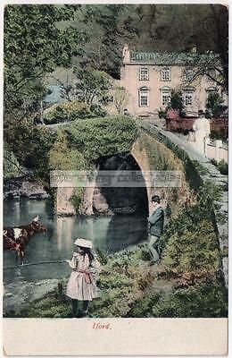 IFORD - Manor & Bridge over the River Frome - nr Bradford-on-Avon - Wiltshire