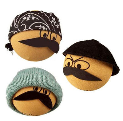 LOWRIDER Cool Dude 3 Pc Latino Mexican CHOLO HOMIES LOCSTER Antenna Ball Topper
