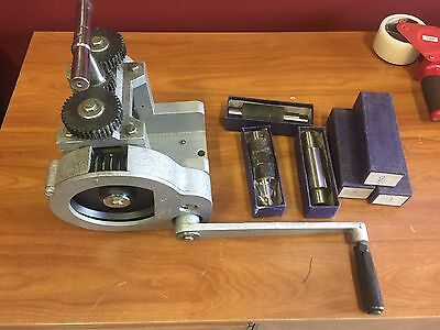 "New Jewelers Combination Rolling Mill 3"" Diameter And Extra Rollers Gold Smith"