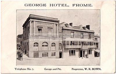 FROME - George Hotel Garage & Pit - Somerset