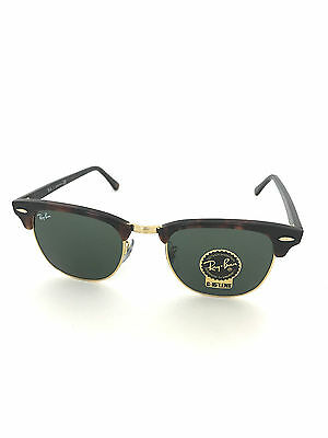 New Ray-Ban Sunglasses RB 3016  W0366-51  CLUBMASTER Tortoise