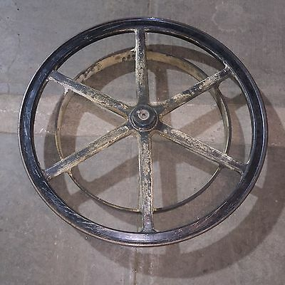 Large Vintage/Antique Printing Press Pulley/Wheel/Part Steampunk