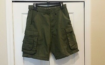 mens boy scouts of america convertible pants shorts only relaxed 31