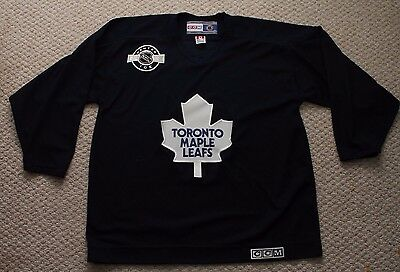 5d453806c32 Toronto Maple Leafs CCM Center Ice Hockey Practice Jersey - Mens XL - Navy  Blue