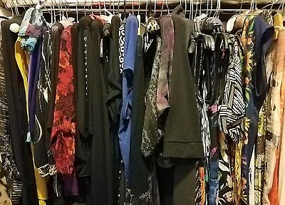 10 Piece Lot of Womens Tops, Shirts, Blouses Wholesale Resale Lot Womens Size XS