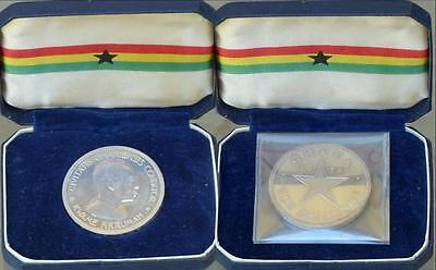 1958 Ghana Proof Silver 10 Shillings Cased Low Mintage