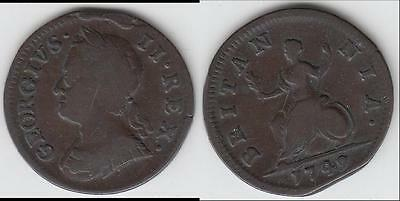 Reduced Again!! 1749 Great Britain Farthing Vf