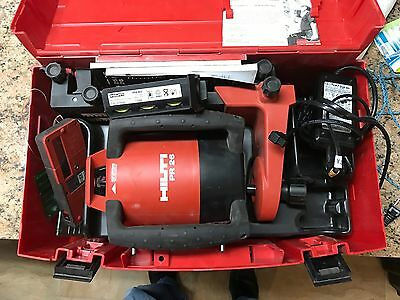 Hilti PR 26 Rotating Laser Level w/ PRA 26 and Case