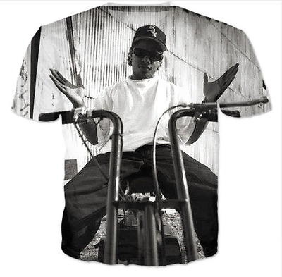 New Fashion Womens/Mens Eazy-E 3D Print Casual T-Shirt HJT197