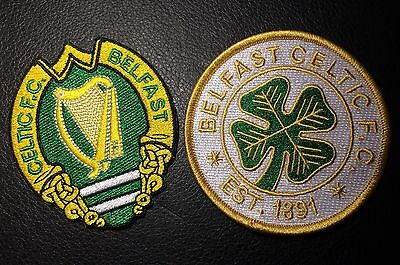 Belfast Celtic Fc Ireland Football Club Patches Set (Sew/Iron On)
