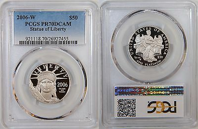 2006-W $50 Platinum Eagle PCGS PR70 90% PCGS Value