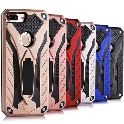 """10/Lot 5.5"""" iPhone 7 Plus Shockproof Rugged Kickstand Case Hybrid Rubber Cover"""