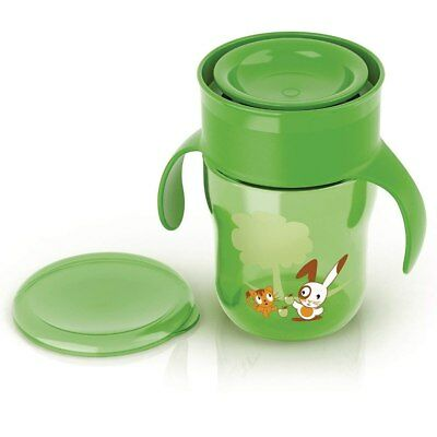 NEW AVENT - My First Grown Up Cup Green 260ml from Baby Barn Discounts