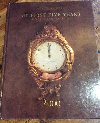 Anne Geddes Baby My First Five Years Record Book 2000 extra large Photo Book