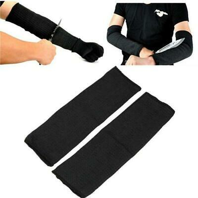 Steel Wire Butcher Anti-Cutting Breathable Work Arm Guard Bracers Safe Protector