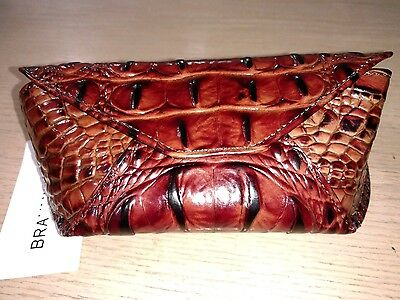 NWT BRAHMIN SUNGLASS CASE in PECAN
