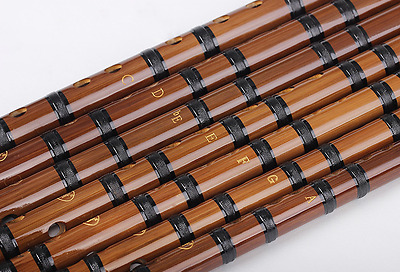 Bamboo Flute pipe musical instrument playing brass joint pleasant timbre 竹笛