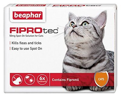 FIPROtec Spot On Cat - 6 Pipettes