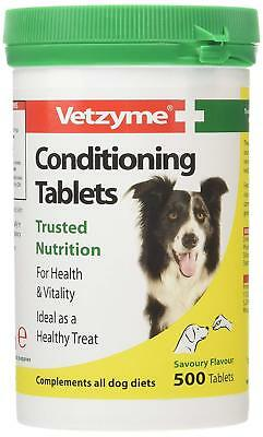 Vetzyme Conditioning Tablets Dogs