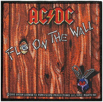 AC/DC fly on the wall patch Patch 4x4 inch