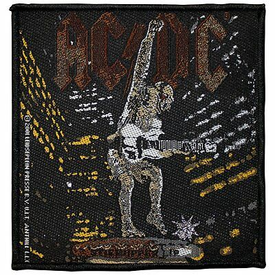 AC/DC stiff upper lip Patch 4x4 inch
