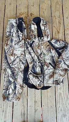ScentBlocker Youth Bone Collector Micro Fleece S3 Jacket and Pants Size Large