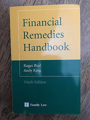 Financial Remedies Handbook by Andy King, Roger Bird (2013) Ninth Edition 9th
