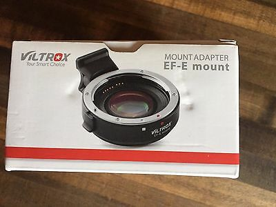 Viltrox Canon-EF to Sony-E Mount Speed Booster Adapter (Has Internal Lens)