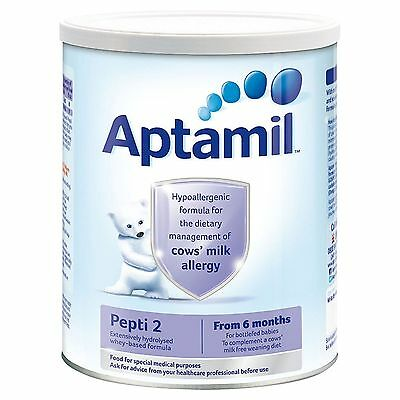 NEW APTAMIL PEPTI 2 From 6 monts 400g COWS MILK ALLERGY