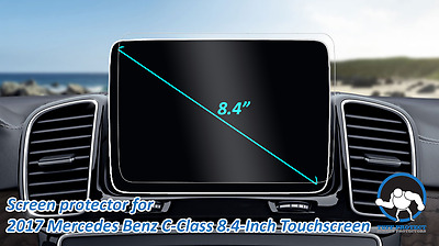 "Anti-glare Screen Protectors for 2017 Mercedes Benz C-Class 8"" - Tuff Protect"