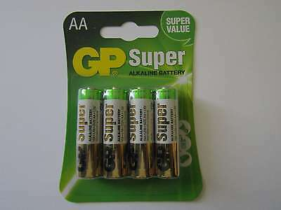 4x AA Super battery alkaline mAh 1,5V GP e AR2751