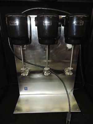 Waring Commercial Triple 3 Head Milkshake Drink Mixer 32DM16