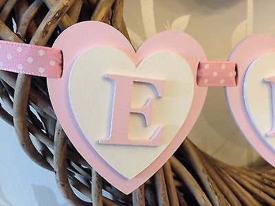 Personalised Wooden Name Bunting
