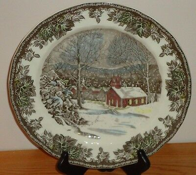 Johnson Brothers The Friendly Village SCHOOL HOUSE Dinner Plate England