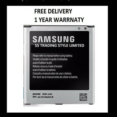 Official Genuine Battery for SAMSUNG Galaxy S4 SIV GT-i9500 i9505 2600mAh