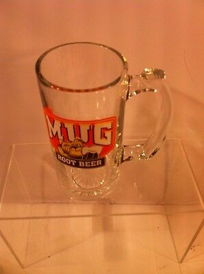 Mug Root Beer Glass--Mug With Handle--Very Heavyweight----Vgc