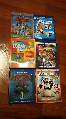 3D Animation Bluray Lot (Please choose from list) (Very good to like new)